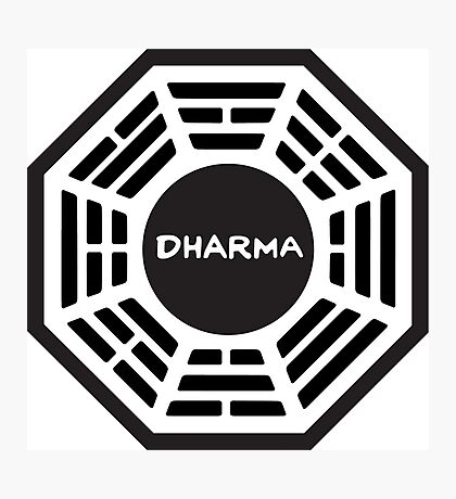 The Dharma Initiative Photographic Print