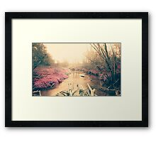 Dreamy nature Framed Print