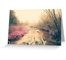 Dreamy nature Greeting Card