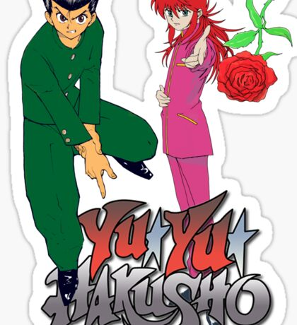 yuyu hakusho Sticker