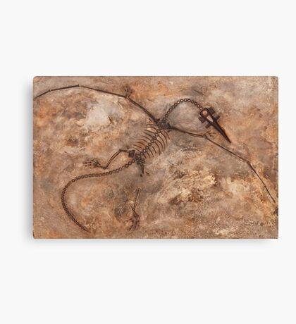 Faux Dino Canvas Print