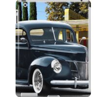 1940 Ford Deluxe Coupe iPad Case/Skin