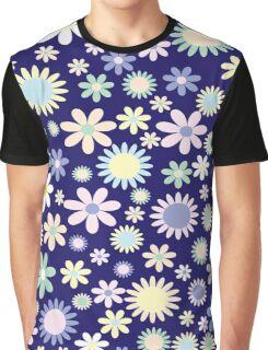 Colourful Flowers Graphic T-Shirt