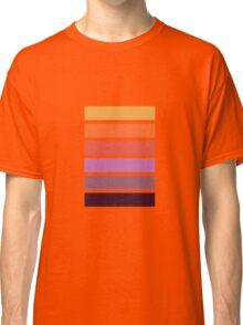 Colour Pallet - Dahlia colours Classic T-Shirt