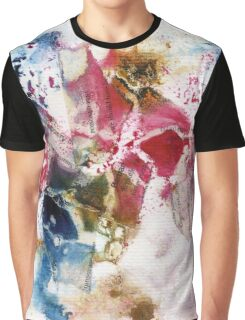 Red, Pink and brown abstract  Graphic T-Shirt
