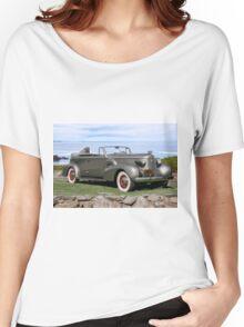 1937 Cadillac Fleetwood Convertible Sedan Women's Relaxed Fit T-Shirt
