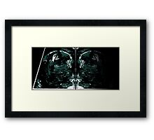 Mirror Game Collage Framed Print