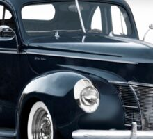 1940 Ford Deluxe Coupe 'Studio' Sticker