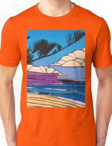 The Tunnel, The Pipe and The Pine Unisex T-Shirt