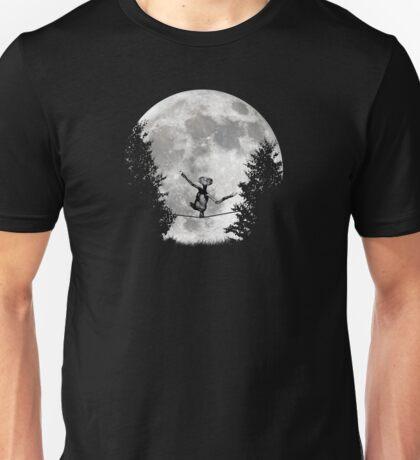 Slack Lining Alien Unisex T-Shirt