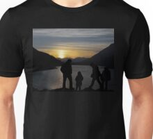 Silhouettes At Sunset  T-Shirt