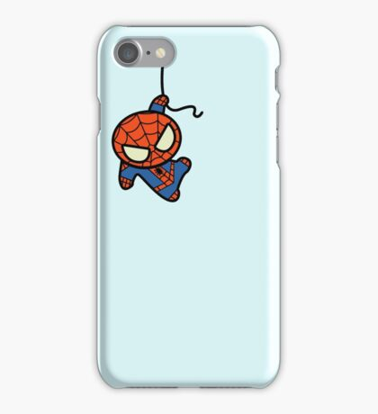 Hang on there Spidey iPhone Case/Skin