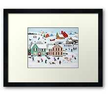 Once Upon a Winter Framed Print