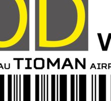 Destination Tioman Airport Sticker
