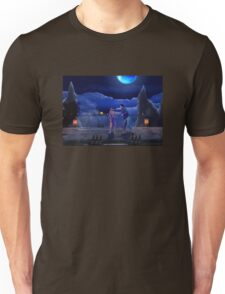 Man Punches Kangaroo Unisex T-Shirt