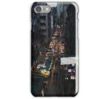 Hong Kong Noir, Market iPhone Case/Skin