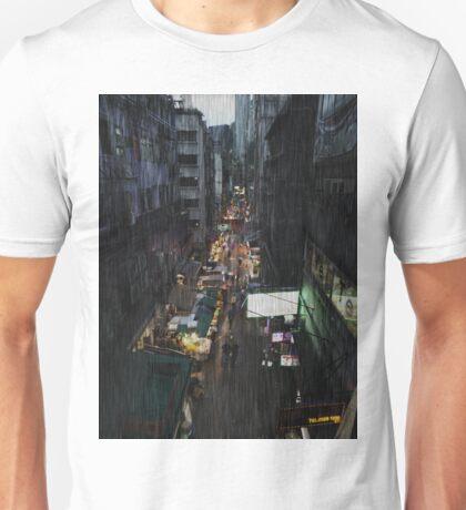 Hong Kong Noir, Market Unisex T-Shirt