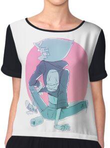 Pearl Rebel Steven Universe Chiffon Top