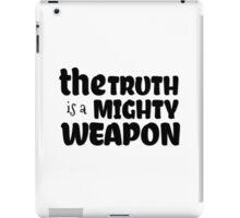 inspirational free speech revolution riot t shirts iPad Case/Skin