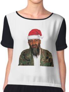 Merry Christmas! - Osama Bin Laden Chiffon Top