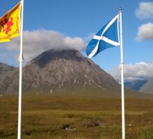 Scottish flags - Saltire and St Andrews cross Sticker