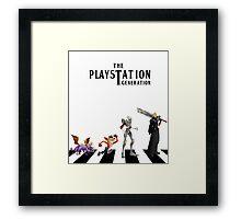 THE PLAYSTATION GENERATION Framed Print