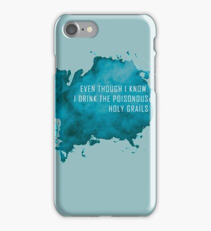 WINGS_Bangtan_Poisonous Blue iPhone Case/Skin