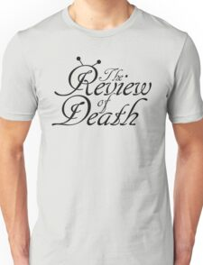 'The Review of Death' Beat-bug Logo Unisex T-Shirt