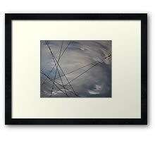 Death of a Muse - Without Resolution Framed Print