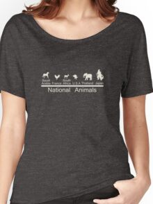 National animals Women's Relaxed Fit T-Shirt