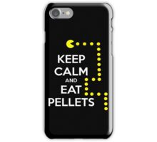 Keep calm and eat pellets iPhone Case/Skin