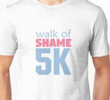Walk of Shame 5k Unisex T-Shirt