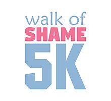 Walk of Shame 5k Photographic Print