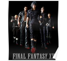 Final Fantasy XV - Black edition Poster