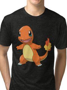 Charmander Cute Tri-blend T-Shirt