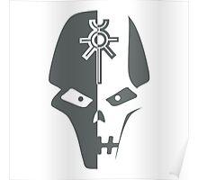 Necron Helm Poster