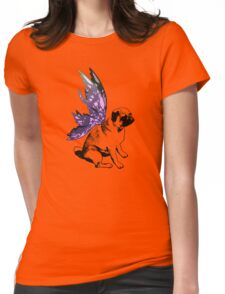 Pug Fairy Life Womens Fitted T-Shirt