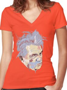 Francis Bacon Women's Fitted V-Neck T-Shirt