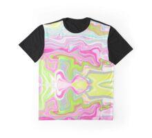 Iridescent Marble Graphic T-Shirt