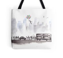 Morning Commute Tote Bag