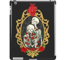 Skeleton love iPad Case/Skin