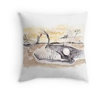 Don't Trust the Apple Tree! Throw Pillow