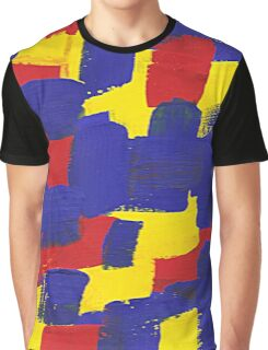 ABSTRACT COLOR 4 Graphic T-Shirt
