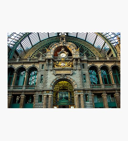 Gare Centrale/ Central Station 2 - Travel Photography Photographic Print