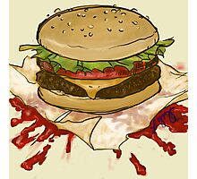 Ketchup Murder Photographic Print