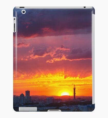 Epic Dramatic Sunset Sky iPad Case/Skin