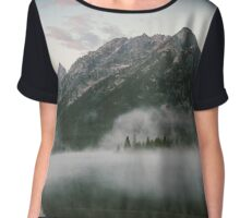 The Lost Mountain Chiffon Top