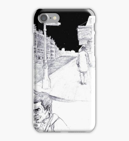 Graphic novel page iPhone Case/Skin