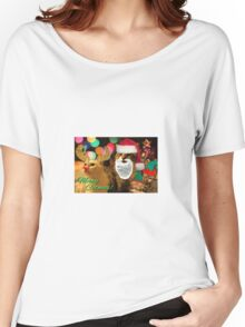 Meowy Catmas! Women's Relaxed Fit T-Shirt