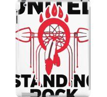 Native american , water is life iPad Case/Skin